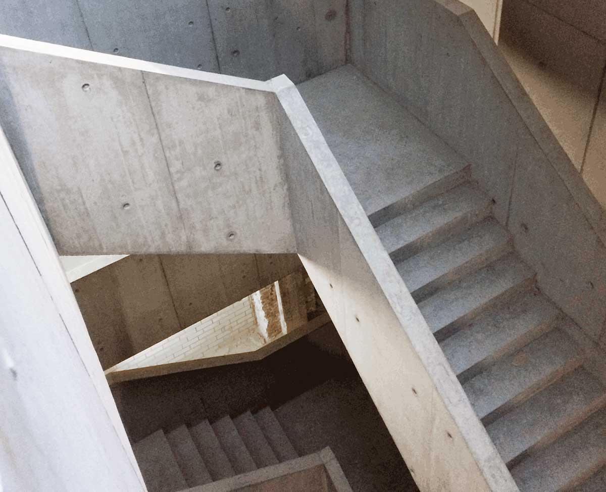 Haupttreppe Hochschule für Schauspielkunst