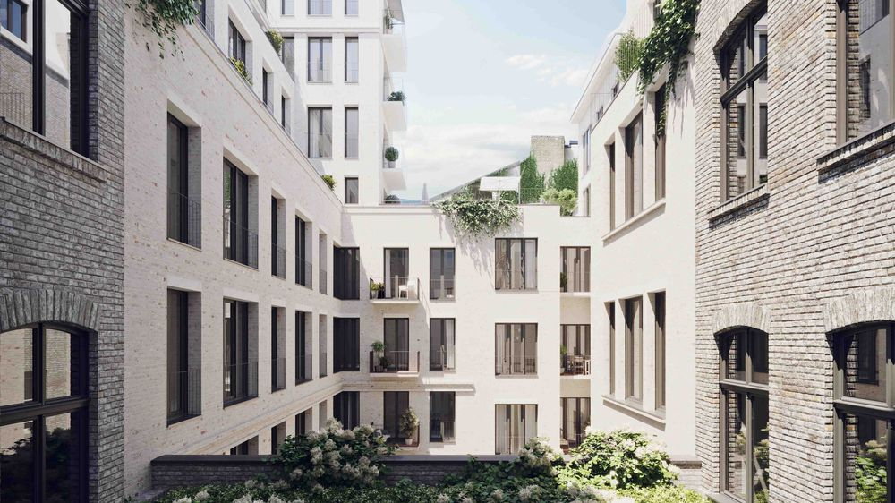 Umbau und Sanierung eines denkmalgeschützten Wohn- und Geschäftshauses, Glinkastraße, Berlin
