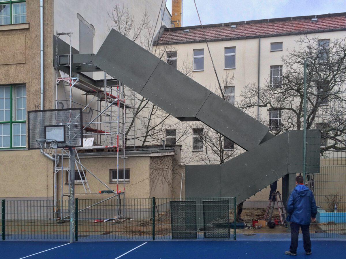 Sanierung der Albrecht-Dürer Oberschule, Berlin