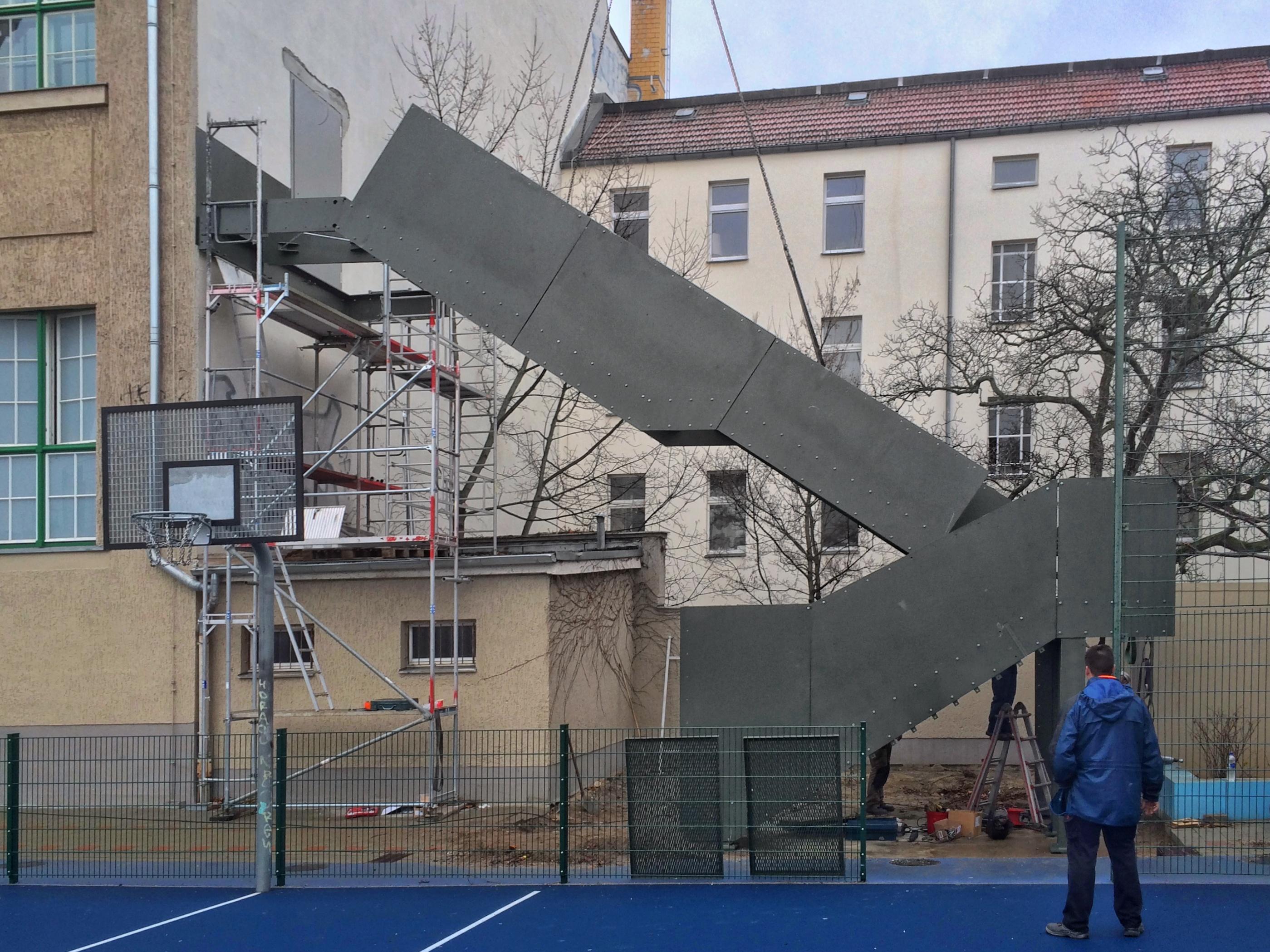 Sanierung der Albrecht-Dürer Oberschule Berlin