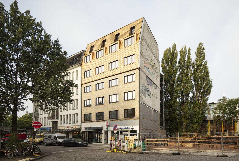 Modernisierung und Aufstockung eines Wohn-und Geschäftshauses, Bahrenfelderstraße, Hamburg