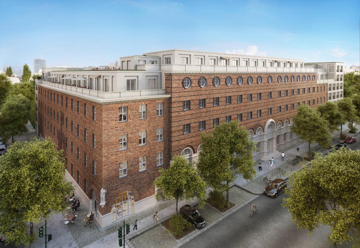 Umbau des denkmalgeschützten Postamtes zum Wohngebäude, Berlin