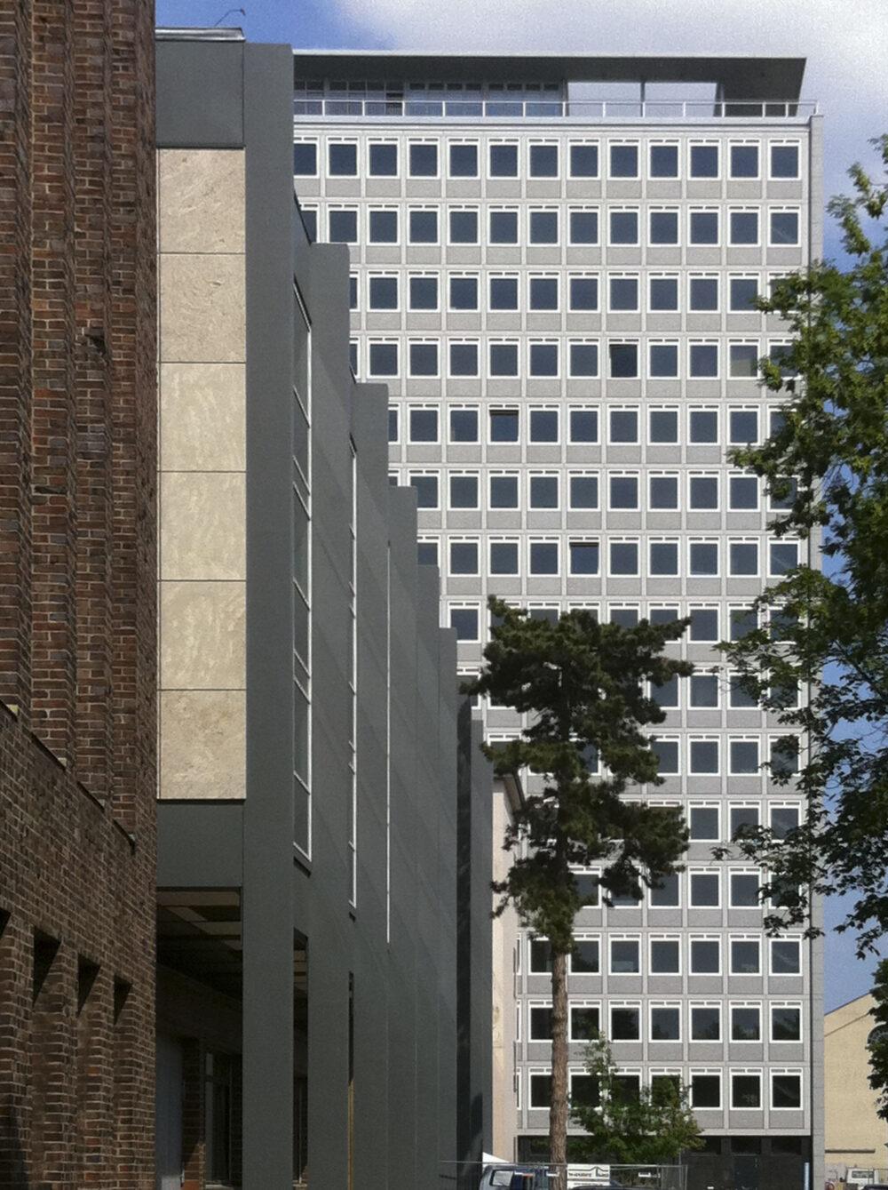 Okerhochhaus der TU Carolo-Wilhelmina zu Braunschweig