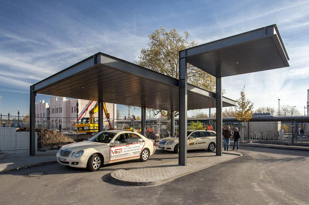Bahnhofsumfeldgestaltung, Brandenburg an der Havel