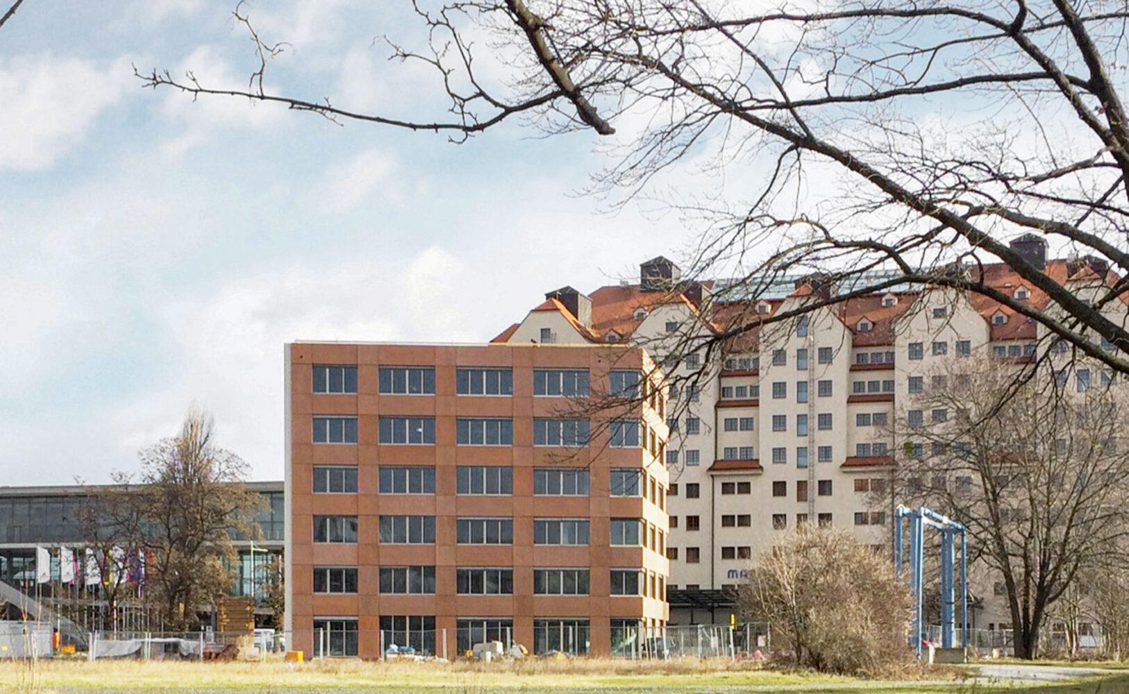 Neubau Herbert-Wehner-Haus, Devrientstraße, Dresden