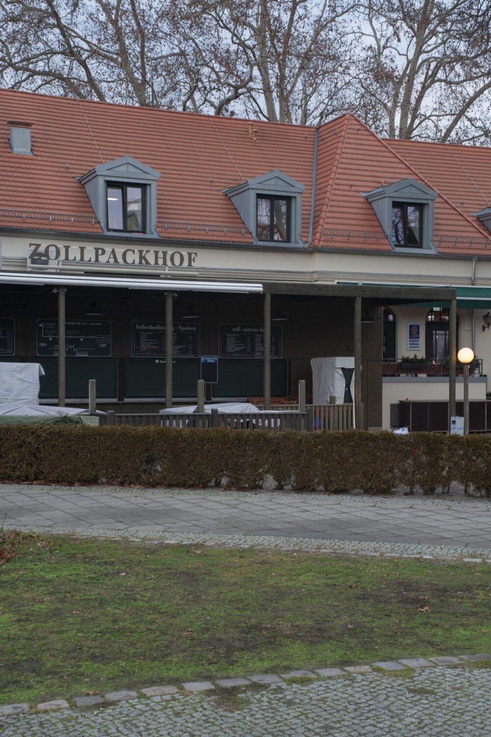 Umbau und Erweiterung Restaurant Zollpackhof, Berlin