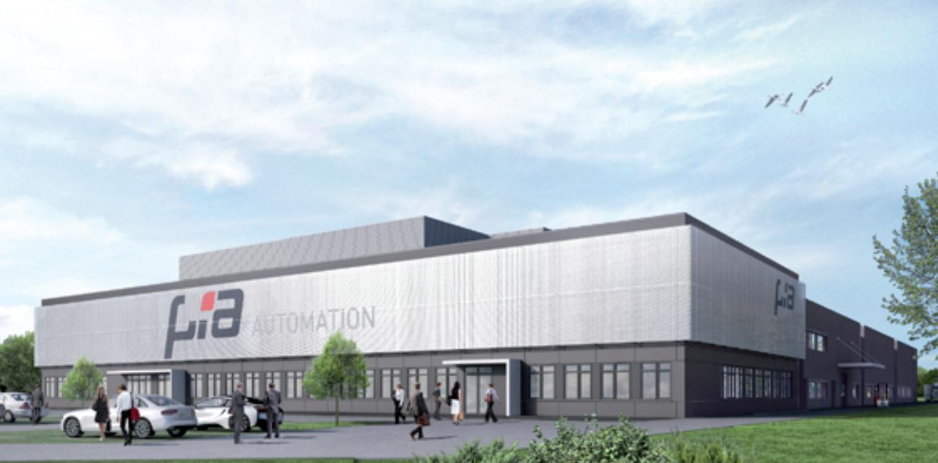 Neubau einer Fertigungshalle mit Bürogebäude, Bad Neustadt