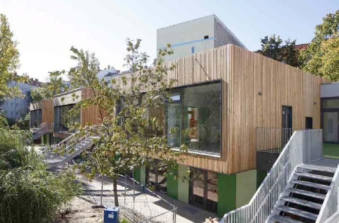 Erweiterung und energetische Sanierung der Kindertagesstätte, Fürstenbergerstraße, Berlin