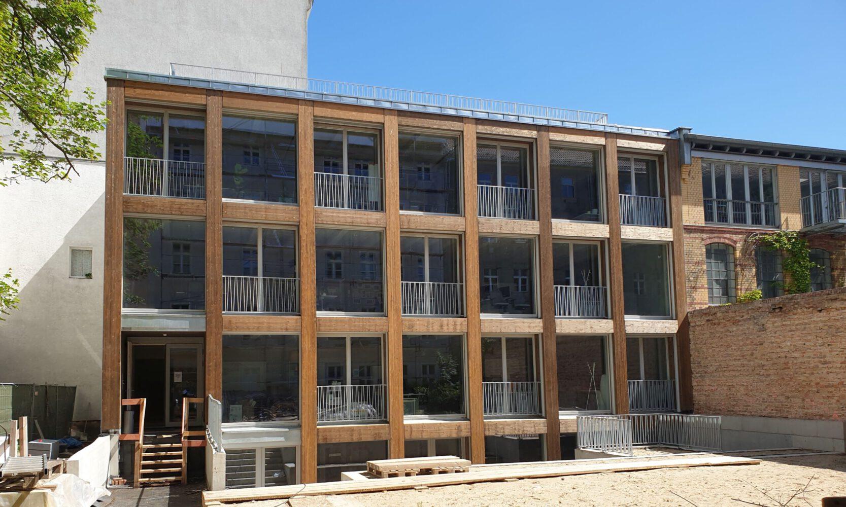 Fassade Immanuel-Kirchstrasse